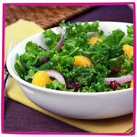Hungry Girl's Healthy Potluck Recipes: Holiday Harvest Kale Salad