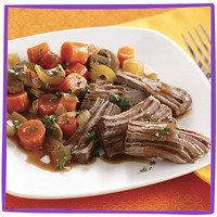 Hungry Girl's Healthy Potluck Recipes: Slow-Cooker Pot Roast
