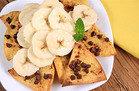 Chocolate Banana Nachos