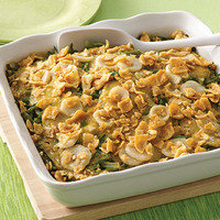 Healthy Thanksgiving Recipe Swaps: Rockin' Lean Bean Casserole