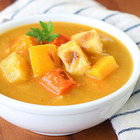 Hungry Girl's Healthy Roasted Winter Vegetable Chowder Recipe