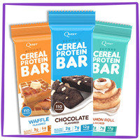 Hungry Girl's Tip Top Food Finds in 2016: Quest Beyond Cereal Protein Bars