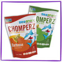 Hungry Girl's Tip Top Food Finds in 2016: SeaSnax Chomperz Crunchy Seaweed Chips