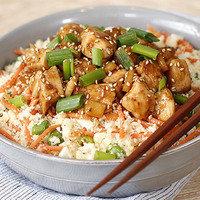 Healthy Bowl Recipes: Teriyaki Chicken Cauli' Rice Bowl