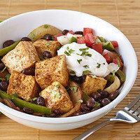Healthy Bowl Recipes: Fajita Tofu Bowl