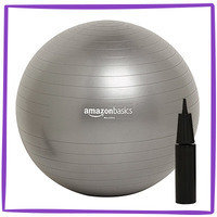 Inexpensive Workout Essentials: Balance Ball with Hand Pump