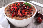 Hungry Girl's Healthy Black Forest Growing Oatmeal Recipe