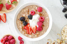 Hungry Girl's Healthy Oversized Overnight Growing Oatmeal Recipe