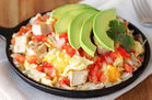 Chicken & Avocado Egg Scramble