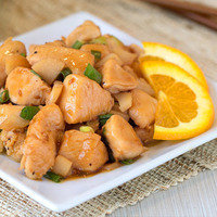 Hungry Girl's Healthy Dinner Recipes with Five Ingredients or Less: Orange Teriyaki Chicken