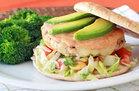 Avocado & Cheese Turkey Burger