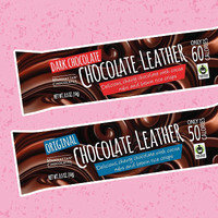 Healthy Amazon Snacks Worth Ordering: Manhattan Chocolates Chocolate Leather