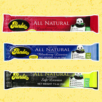 Healthy Amazon Snacks Worth Ordering: Panda All Natural Raspberry Licorice Bar