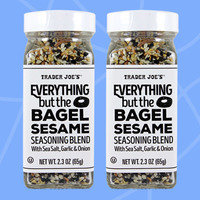 Healthy Must-Buys at Trader Joe's: Everything but the Bagel Sesame Seasoning Blend with Sea Salt, Garlic & Onion