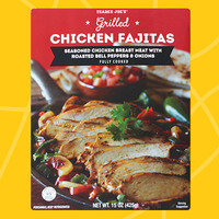 Healthy Must-Buys at Trader Joe's: Grilled Chicken Fajitas