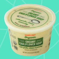 Healthy Must-Buys at Trader Joe's: Organic Creamy Cauliflower Soup