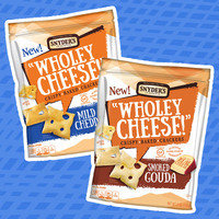"""Snyder's of Hanover """"Wholey Cheese!"""" Crispy Baked Crackers"""
