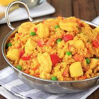 Healthy One-Pot Recipe to Make for Dinner Tonight: Cauliflower Rice Paella