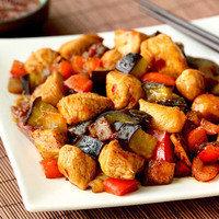 Healthy One-Pot Recipe to Make for Dinner Tonight: Chicken & Eggplant Teriyaki Stir-Fry