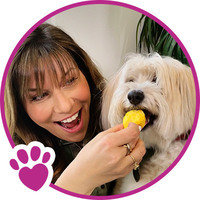 Hungry Girl Lisa Lillien and Her Dog Lolly