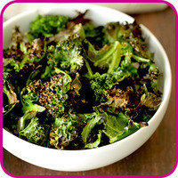 Swaps for Food Fakers: Baked Kale Chips