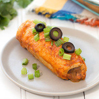 Healthy Hungry Girl Protein-Packed Recipes: Inside-Out Chicken Enchiladas