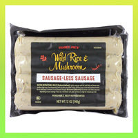 Must-Try Products from Trader Joe's: Wild Rice & Mushroom Sausage-Less Sausage