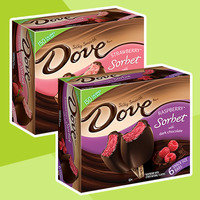 DoveBar Chocolate-Covered Sorbet Bars