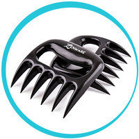 Hungry Girl's Must-Have Kitchen Gadgets: Zenware Set of 2 BBQ Meat Pulled Pork Shredder Claws
