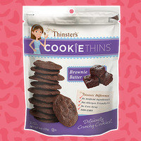 Hungry Girl Review: Mrs. Thinster's Brownie Batter Cookie Thins