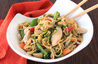 Zucchini So Low Mein with Chicken