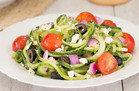 Go Greek Cucumber-Noodle Salad
