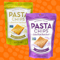 Authentic Italian Pasta Chips Baked Fresh Pasta Snack