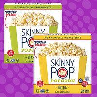 Skinny Pop Popcorn Microwave Pop-Up Boxes