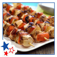 Healthy Hungry Girl Memorial Day Recipes: Naked Buffalo Chicken Kebabs
