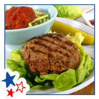 Healthy Hungry Girl Memorial Day Recipes: Outside-In Cheeseburger Patty