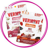 On-the-Go Snack: Vermont Smoke & Cure Minis Meat Sticks