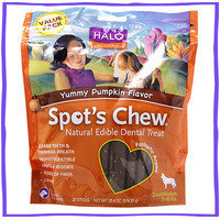 Halo Purely for Pets Yummy Pumpkin Flavor Spot's Chew
