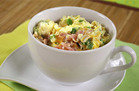 Healthy Hungry Girl Low-Sugar Recipes: Denver Omelette in a Mug
