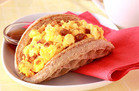 Healthy Hungry Girl Low-Sugar Recipes: Bacon 'n Eggs Waffle Taco