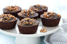 Healthy Hungry Girl Low-Sugar Recipes: Mini Flourless PB Chocolate Cakes