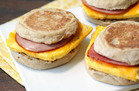 Easy Freezy Breakfast Sandwiches