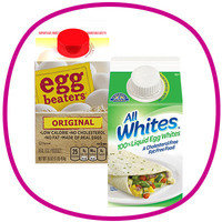 Hungry Girl's Time-Saving Food Finds: Fat-free liquid egg substitute/liquid egg whites