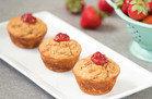 PB&J Protein Muffins