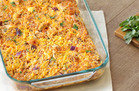 BBQ Chicken & Cauli' Rice Casserole