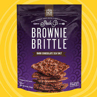 Sheila G's Dark Chocolate Sea Salt Brownie Brittle