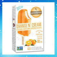Hungry Girl's Frozen Dessert Finds: All-Natural GoodPop Frozen Pops in Orange N' Cream