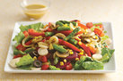 Hot & Cold Veggie Salad