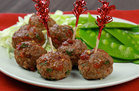 Spicy Asian Meatballs (101 calories)