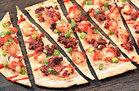 Chorizo Shrimp Flatbread (87 calories)